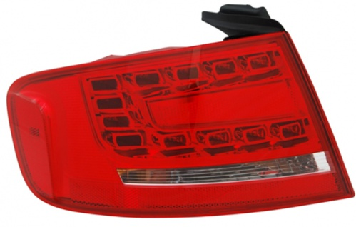 LED Rückleuchte / Heckleuchte Aussen links TYC für Audi A4 Limousine 8K 07-11