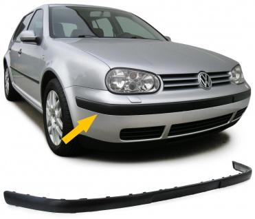 Stoßleiste Zierleiste für Front Stoßstange vorne für VW Golf 4 97-03 - Vorschau 1