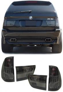 LED Rückleuchten schwarz für BMW X5 E53 99-03