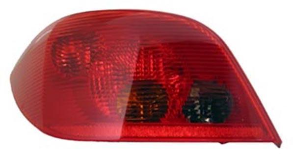 Rückleuchte / Heckleuchte links TYC für Peugeot 307 00-05
