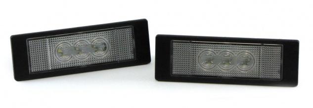 LED Kennzeichenbeleuchtung High Power weiß 6000K für BMW 1er E81 07-11