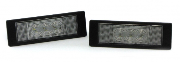 LED Kennzeichenbeleuchtung High Power weiß 6000K für BMW 6er Coupe E63 05-10