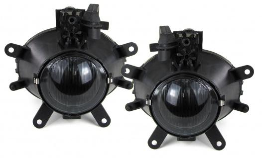 Klarglas Nebelscheinwerfer H11 schwarz smoke für BMW 3er E46 01-05
