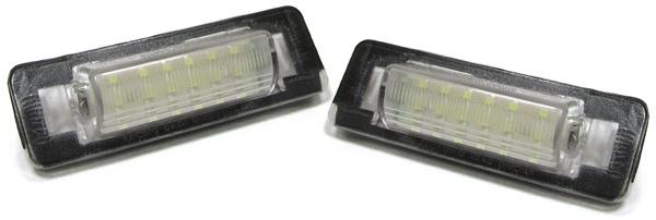 LED Kennzeichen Nummernschild Beleuchtung für Mercedes C Klasse W202 E W210