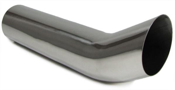Edelstahl Auspuff Endrohr poliert 76mm DTM - mit ABE - Vorschau 1