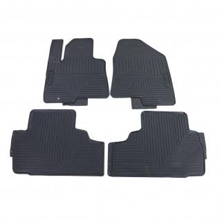 Premium Gummi Fußmatten Set 4-teilig Schwarz für Hyundai i35 EL ELH LM ab 10