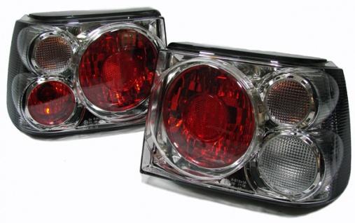 Klarglas Rückleuchten chrom für Seat Ibiza 96-99