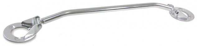 Alu Domstrebe verstellbar poliert für BMW 3ER E36 6 Zyl 320i 325i 90-99