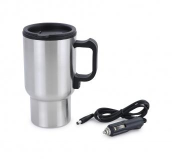 PKW KFZ Getränkewärmer Teekocher Edelstahl universal 12V für Kaffee Tee Suppen