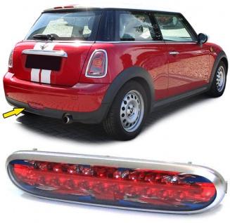 LED Nebelschlußleuchte chrom für Mini R56 One + Cooper 06-10
