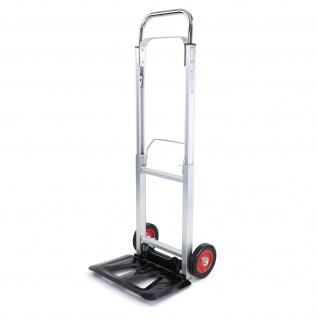 Ramroxx Profi Aluminium Sackkarre Stapelkarre ausziehbar klappbar bis 90 kg