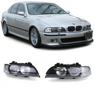 Scheinwerfer mit weißen Blinker rechts + links für BMW 5er E39 95-00