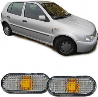 Seitenblinker schwarz smoke Paar für VW Golf III Passat 3A Polo 6N1 Sharan Caddy - Vorschau 2