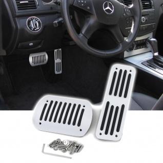 Automatik Alu Pedalen Set für Mercedes W124 W202 W203 W204 W210 W211 W163 W164