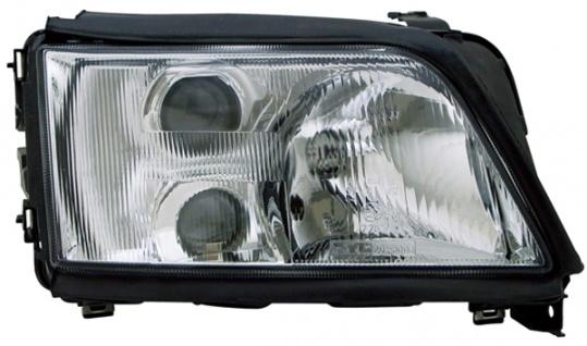 H1 / H1 / H3 Scheinwerfer rechts TYC für Audi A6 C4 94-97