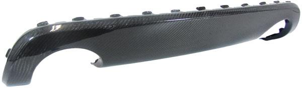 Carbon S Line Diffusor Blende Einsatz für Audi TT 8N
