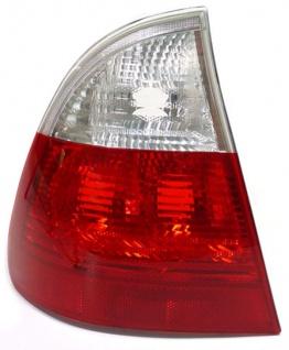 Rückleuchte rot weiß klar links für BMW 3ER E46 Touring Kombi