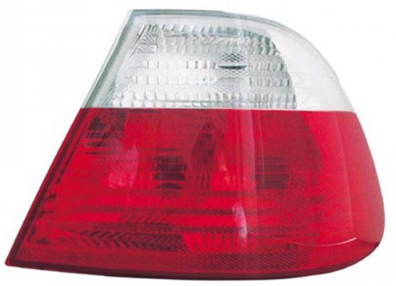Rückleuchte / Heckleuchte weiß rechts TYC für BMW 3ER Coupe E46 99-01