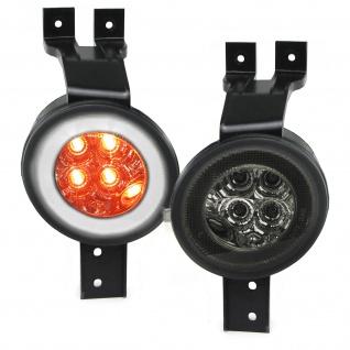 LED Blinker mit Standlicht schwarz für Mini Cooper One R50 R53 01-06 R52 04-08