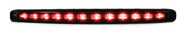 *** 3. Bremsleuchte LED Klarglas schwarz smoke für Mercedes E Klasse W211 02-08