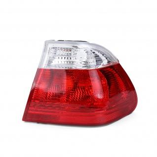 Rückleuchte Aussen Rot Weiß Klar Rechts für BMW 3er E46 Limousine 98-01