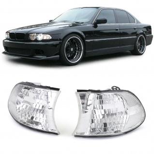 Weiße Klarglas Blinker für BMW 7er E38 98-01