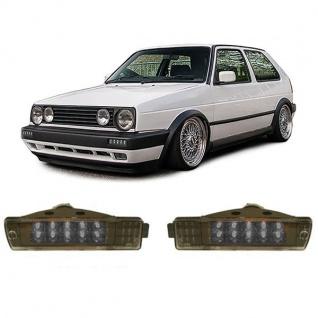 LED Klarglas Blinker schwarz für VW Golf 2 GL - Vorschau 3