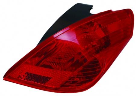 Rückleuchte / Heckleuchte rechts TYC für Peugeot 308 07-