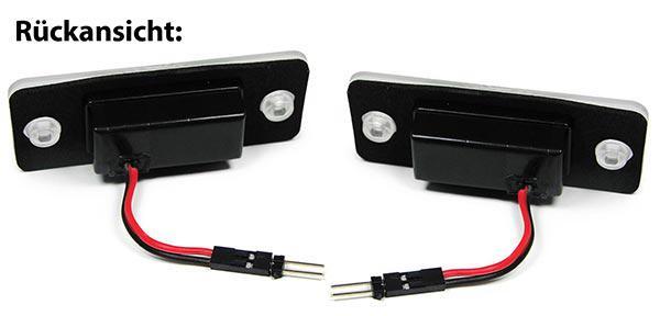 LED Kennzeichenbeleuchtung weiß 6000K für Audi A8 D3 4E 02-10 - Vorschau 3