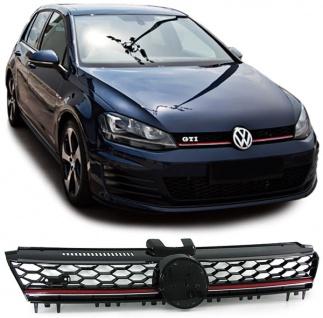 Sport Kühlergrill Grill mit Waben für VW Golf 7 ab 12 auch GTI