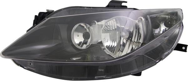H7 / H7 Scheinwerfer schwarz links TYC für Seat Ibiza V 6J 08-12
