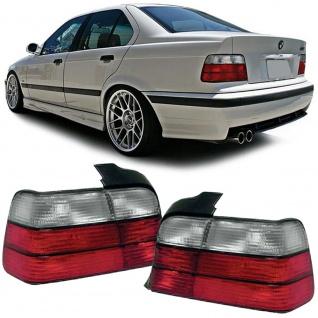 Rückleuchten rot weiß für BMW 3er E36 Limousine 90-98