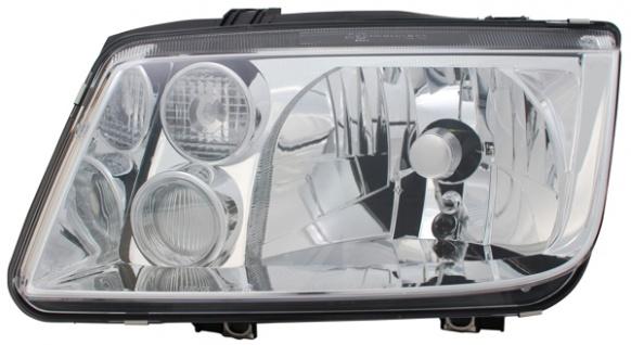 H3 / H4 SCHEINWERFER LINKS TYC FÜR VW Bora 1J 98-05