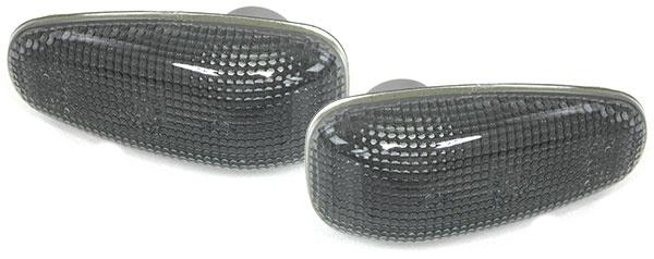 Seitenblinker schwarz Set für Mercedes Sprinter Vito W210 SLK R170