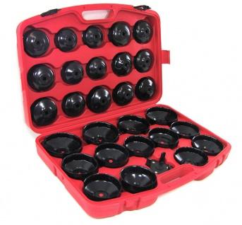 Profi Werkzeug Ölfilterschlüssel Set 31 teilig mit Koffer für PKW - Vorschau 2