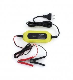 Kfz Batterieladegerät Batterieerhaltung mit LED für PKW Motorrad Boot 12V 2A