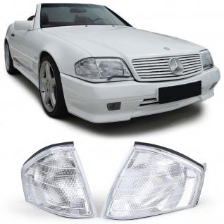 Blinker Weiß Paar für Mercedes SL R129 89-01