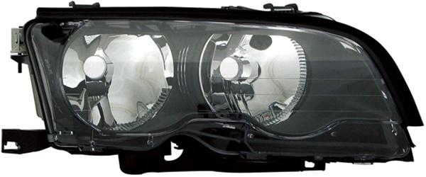 H7 / H7 SCHEINWERFER SCHWARZ RECHTS TYC FÜR BMW 3ER Coupe Cabrio E46 01-03