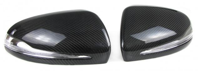 Carbon Spiegelkappen zum Austausch für Mercedes W205 S205 W213 W222 GLC X253