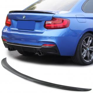 CARBON PERFORMANCE HECKSPOILER SPOILERLIPPE FÜR BMW 2ER Coupe F22 ab 13