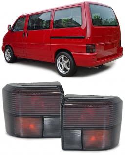 Rückleuchten schwarz Paar für VW T4 Bus Transporter Caravelle 90-03