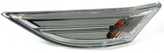 Seitenblinker Klarglas chrom links für Porsche 911 991 Boxster Cayman 981