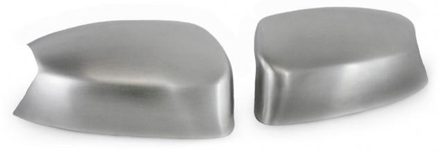 Aussen Spiegelkappen Abdeckungen Cover Alu matt für Ford Kuga I ab 08
