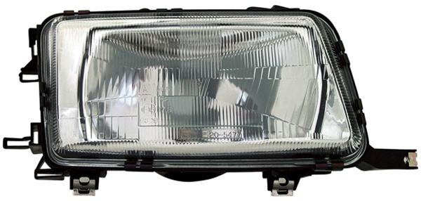 H4 Scheinwerfer rechts TYC für Audi 80 B4 91-96