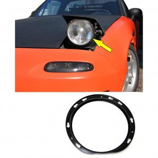 Lampenring Ersatz Ring für Scheinwerfer für Mazda MX5 Miata NA 89-98