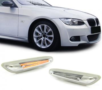 LED Seitenblinker weiß klar für BMW E81 E82 E87 E88 E90 E92 E93 X1 E84