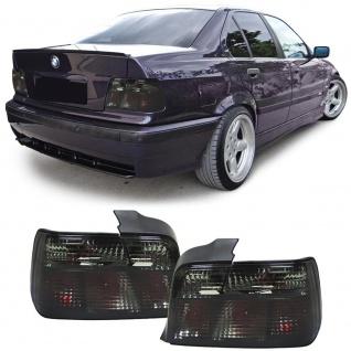 Schwarze Rückleuchten Smoke für BMW 3er E36 Limousine 90-99