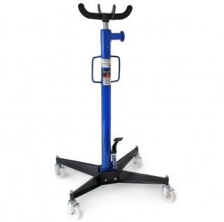 Ramroxx Profi Werkstatt Kupplung Getriebeheber rollbar 110cm-190cm 500kg blau