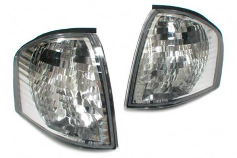 Weiße Klarglas Blinker für Mercedes W202 C Klasse 93-00