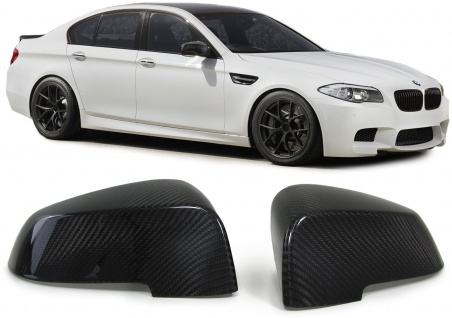 Außenspiegel Kappen Cover Carbon für BMW 5er GT F07 5er F10 F11 F18 7er F01 F02